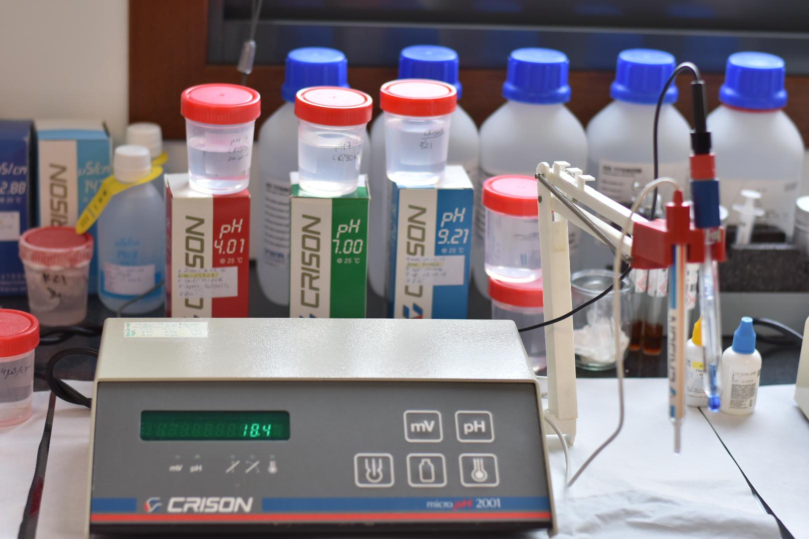 laboratorio de calidad y medio ambiente