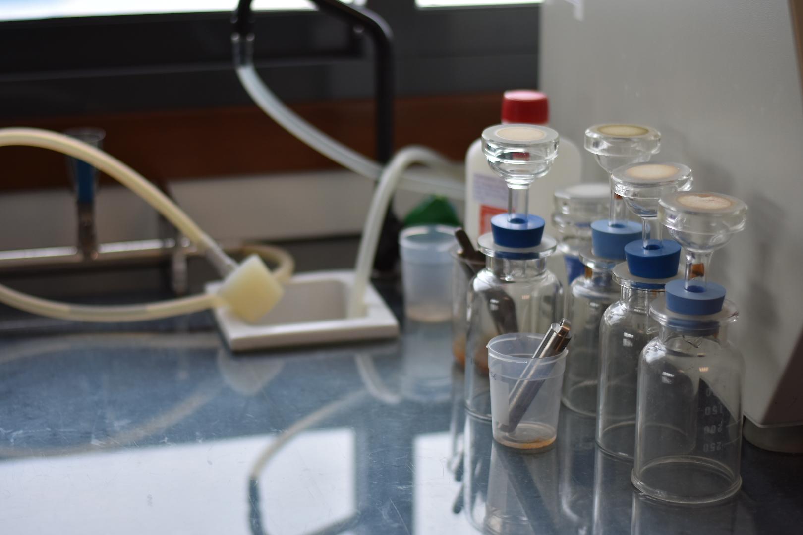 Recogida de muestras en Galicia
