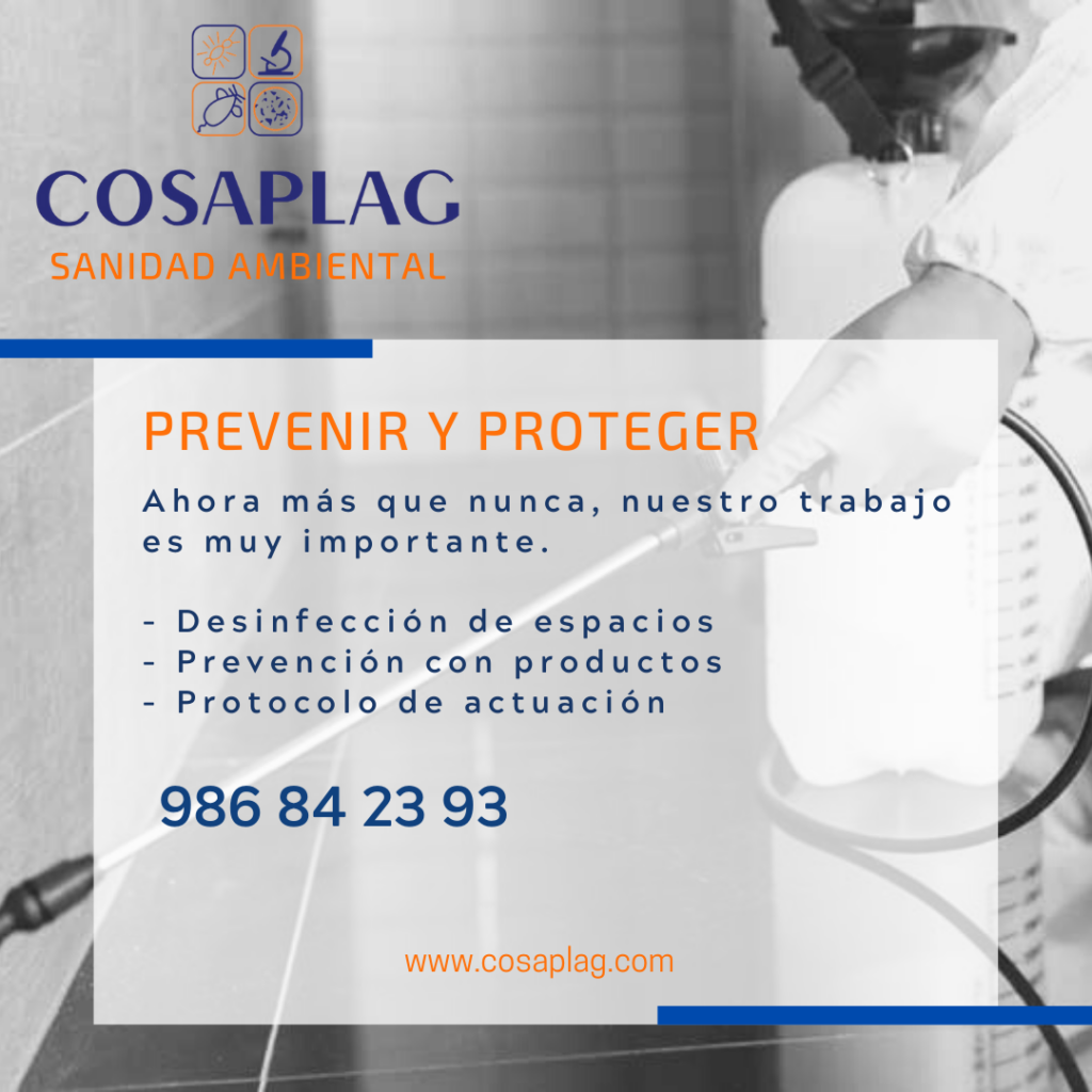 prevenir y proteger desinfeccion en tiempos de crisis